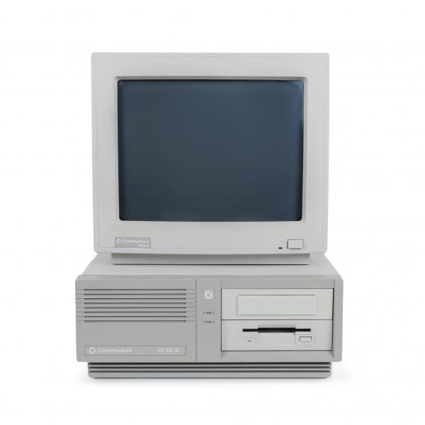 Commodore PC20 III computer set